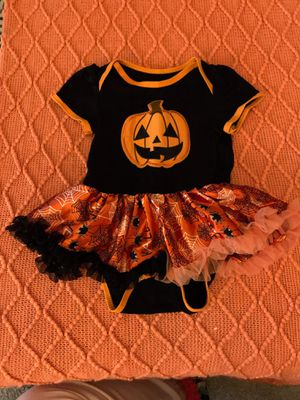 Halloween tutu onesie for Sale in Fife Lake, MI