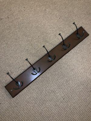 5 hook wall rack/hanger for Sale in San Francisco, CA