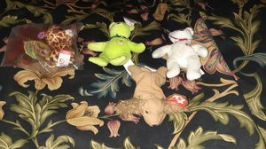 4 McDonald's happy meal Beanie Babies for Sale in Ripon, WI