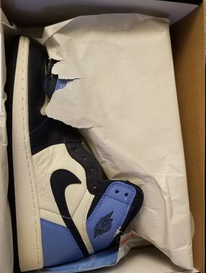 Jordan 1 obsidian size 5.5 or 6.5 for Sale in Aspen Hill, MD