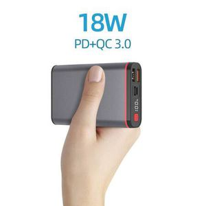 Portable Power Bank Chargers 10000mAh Type C PD 18W and 2 USB QC 3.0 Ports Small External Battery Packs LCD Display for iPhone iPad Huawei Samsung An for Sale in Pomona, CA