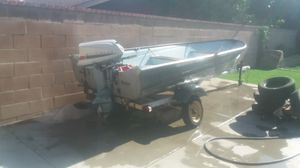 Fishing boat Evenrude for Sale in Chino Hills, CA