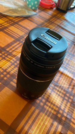 canon zoom lens 75-300mm for Sale in Gainesville,  FL
