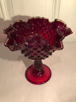 Pedestal Bowl by Fenton Glass for Sale in Eddystone,  PA
