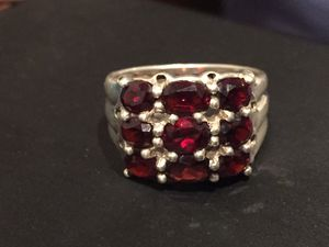 Sterling silver and Garnet Ring for Sale in Virginia Beach, VA