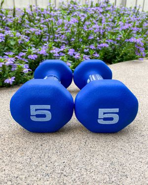 ‼️ BRAND NEW / BEST QUALITY 5lb Neoprene Dumbbells (Pair) - Workout Weights for Sale in San Diego, CA