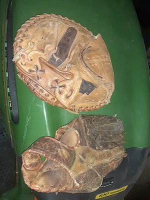 Vintage Baseball gloves for Sale in Archdale, NC