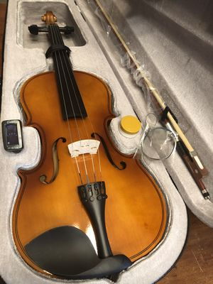Beautiful Viola with New Bow, Digital Tuner, Extra Strings, Rosin $100 Firm for Sale in Arlington, TX