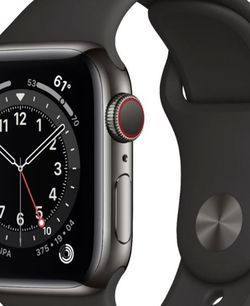 Stainless Steel Apple Watch Series 6 (gps+cellular) for Sale in Redmond,  WA
