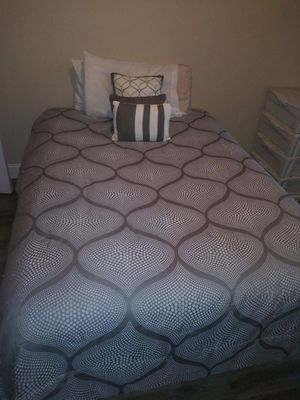 Bed and bed frame for Sale in West Columbia, SC