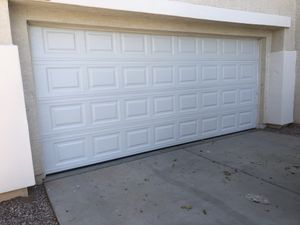 BRAND NEW GARAGE DOOR $650 PRICE DEPENDS ON SIZE ! All sizes available! for Sale in Phoenix, AZ