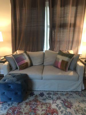 Cream color couch, seats two for Sale in Vestavia Hills, AL