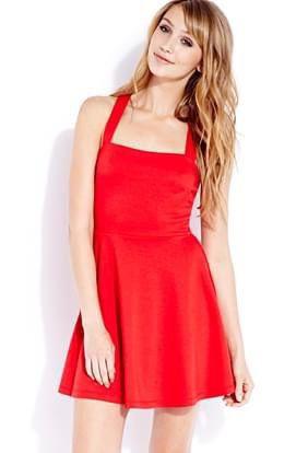 Forever 21 Red Skater Dress for Sale in Rosemead, CA