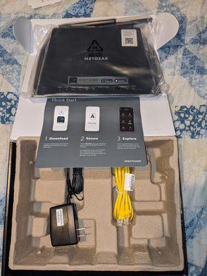 Nighthawk ac1750 smart WiFi router for Sale in Houston, TX