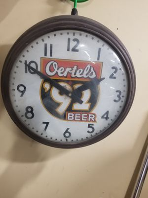 Vintage Oertel's Beer Clock for Sale in Murfreesboro, TN