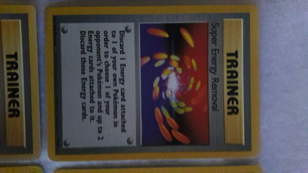 Very Rare Pokemon Trainer cards all stars from 1999