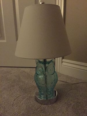 Owl table lamp for Sale in Rochester Hills, MI