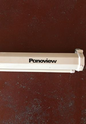 Panoview Projector Screen for Sale in Selma, CA