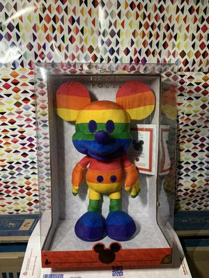 NEW Disney Year of the Mouse June Pride Month Plush for Sale in Garden Grove, CA