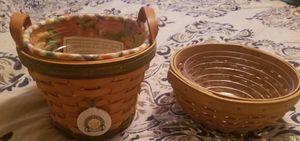 2 Longaberger baskets for Sale in Tavares, FL