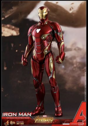 Hot Toys 1/6 Iron Man Mark 50 Diecast Figure for Sale in Chino Hills, CA