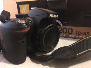 Nikon 3200 Digital Camera for Sale in Bakersfield, CA