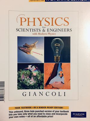 Physics for scientists and engineers Textbook for Sale in Starkville, MS