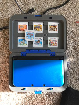Nintendo 3ds XL (with 7 games and charger) for Sale in Shelton, CT