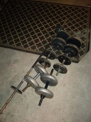 Weight set exercise equipment for Sale in Philadelphia, PA