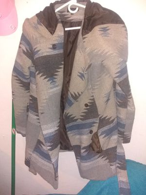 Camouflage winter jacket with hoodie for Sale in Denver, CO