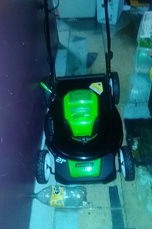 New 80 volt lawn mower for Sale in San Diego, CA