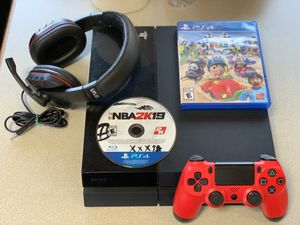 PS4 500GB Bundle for Sale in San Diego, CA