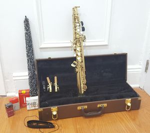 Winston 350gl soprano saxophone and accesories for Sale in Brooklyn, NY