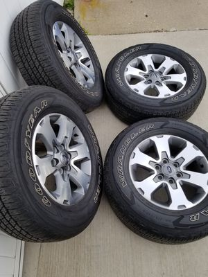 "18"" Ford F150 Wheels & Goodyear Tires for Sale in IND HEAD PARK, IL"