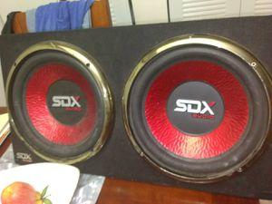 2 Sda 12 in speaker for Sale in Hialeah, FL