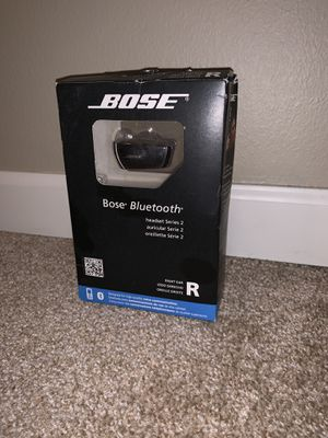 Bose Bluetooth headset Series 2 right ear for Sale in Vancouver, WA