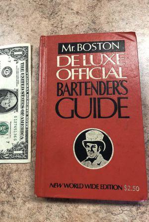 Vintage Mr. Boston Bartender's Guide for Sale in San Antonio, TX