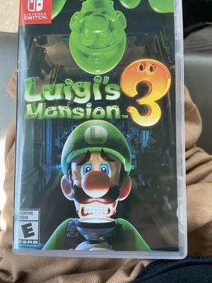 Luigis Mansion 3 Nitendo Switch for Sale in Yorba Linda, CA