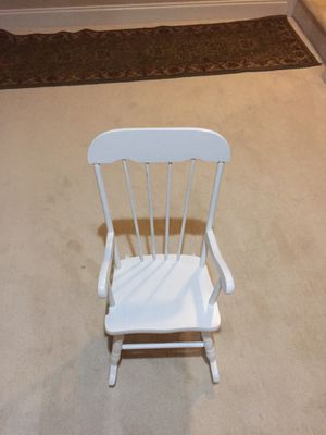 Child's rocking chair for Sale in Ashburn, VA