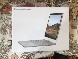 "Microsoft Surface Book 3, 13"", Intel Core i5-1035G7, 8GB Memory, 256GB for Sale in Chula Vista, CA"