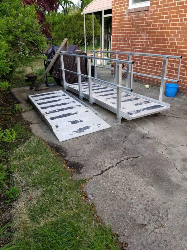 Aluminum Wheelchair ramp