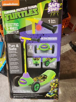 Ninja Turtles electric scooter for Sale in Jersey City, NJ