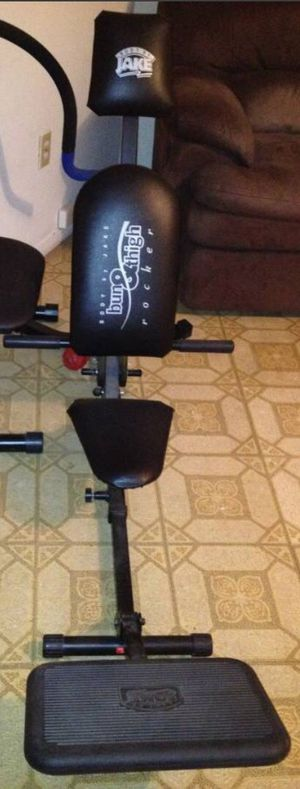Body by Jake Bun & Thigh Rocker Exercise Machine for Sale in The Bronx, NY