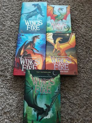 Wings of Fire Books #2-6 for Sale in Maplewood, MN