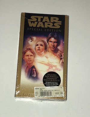 New Star Wars VHS Movie just $3 for Sale in Port St. Lucie, FL