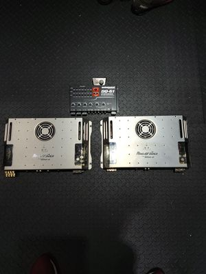Car audio system amplifiers and EQ Phoenix Gold Audio Control for Sale in MONTGMRY, IL