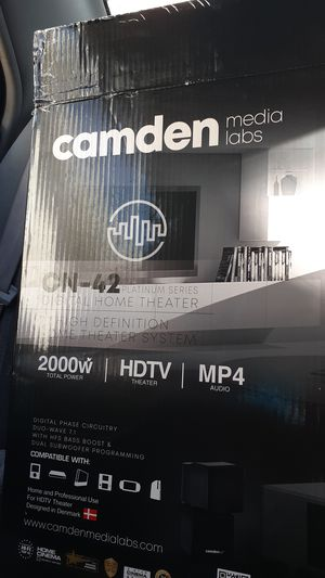 Camden media labs home theater system for Sale in Denver, CO