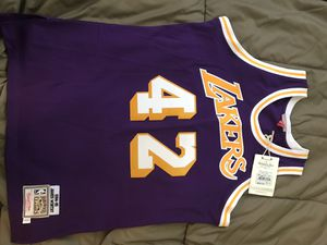 James worthy authentic away jersey for Sale in Detroit, MI