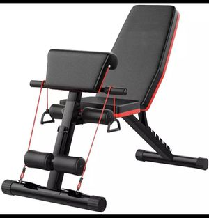 Adjustable Weight Bench Full Body Workout Foldable Incline Decline Exercise Workout Bench for Home Gym for Sale in Miami, FL