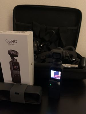 osmo pocket with alot of accessory for Sale in Dundee, FL